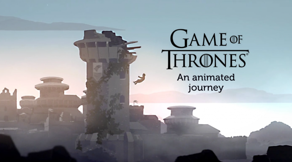 Game of Thrones, an animated journey
